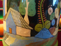Closeup photo of Tlaquepaque mugs