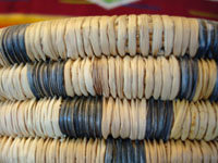 Closeup photo of Hopi coiled basket