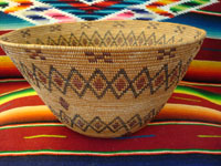 Native American basket, Yokuts c. 1920