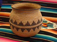 Native American Indian basket, Chemehuevi olla, c. 1910.