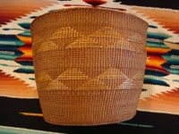 Photo of the side of the Tlingit basket.