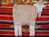 Photo of back side of Navajo folk art goat by Mami Deschillie.