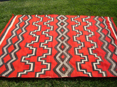 Native American Indian Vintage Weaving And Textiles And